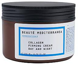 Parfumuri și produse cosmetice Cremă cu colagen pentru întărirea tenului - Beaute Mediterranea Collagen Firming Cream Day & Night