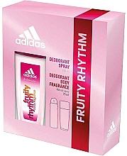 Parfumuri și produse cosmetice Adidas Fruity Rhythm - Set (deo/spray/75ml+deo/150ml)