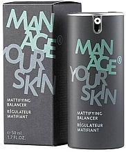 Parfumuri și produse cosmetice Fluid matifiant pentru față - Dr. Spiller Manage Your Skin Mattifying Balancer
