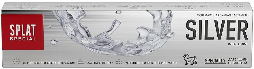 Pastă antibacteriană de dinți, pentru albire delicată - SPLAT Special Silver — Imagine N4