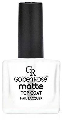 Acoperire mată pentru unghii - Golden Rose Matte Top Coat