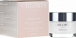 Cremă de noapte pentru față - Chlorys Rosylife High-Performance Night Cream — Imagine N1