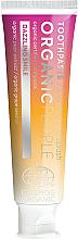 """Parfumuri și produse cosmetice Pastă de dinți """"Albire pentru dinți sensibili"""" - Organic People Champagne Splash Toothpaste"""