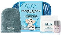 Parfumuri și produse cosmetice Set - Glov Expert Travel Set Dry Skin (glove/mini/1pcs + glove/1pcs + stick/40g)