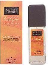Parfumuri și produse cosmetice Legrain Royale Ambree - Apă de colonie-spray