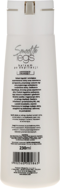 Balsam după epilarea picioarelor - Silcare Smooth Legs Balsam After Depilation — Imagine N2