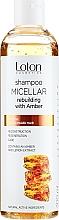 Parfumuri și produse cosmetice Șampon micelar cu extract de chihlimbar - Loton