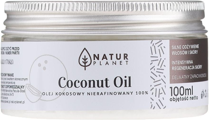 Ulei de cocos, nerafinat - Natur Planet Coconut Oil