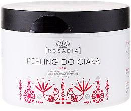 Parfumuri și produse cosmetice Peeling pentru corp - Rosadia
