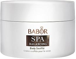 Parfumuri și produse cosmetice Cremă pentru corp - Babor Balancing Body Souffle