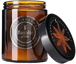 """Parfumuri și produse cosmetice Lumânare parfumată, în borcan """"Anason și mentă"""" - Flagolie Fragranced Candle Anis & Mint"""