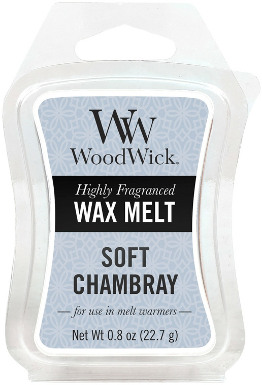 Ceară aromată - WoodWick Wax Melt Soft Chambray — Imagine N1