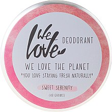 "Parfumuri și produse cosmetice Deodorant solid natural ""Sweet Serenity"" - We Love The Planet Deodorant Sweet Serenity"