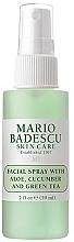 Parfumuri și produse cosmetice Spray facial cu extracte de aloe, castravete și ceai verde - Mario Badescu Facial Spray Aloe, Cucumber & Green Tea