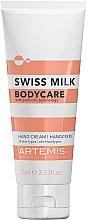 Parfumuri și produse cosmetice Cremă de mâini - Artemis Swiss Milk Hand Cream 3in1