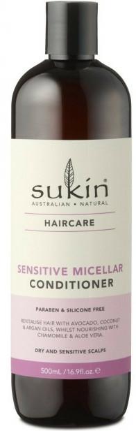 Balsam micelar pentru scalp sensibil - Sukin Sensitive Micellar Conditioner — Imagine N1
