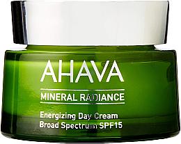 Parfumuri și produse cosmetice Cremă minerală de zi pentru față - Ahava Mineral Radiance Energizing Day Cream SPF 15