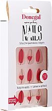 Parfumuri și produse cosmetice Set de unghii artificiale cu lipici, 3067 - Donegal Express Your Beauty