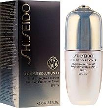 Parfumuri și produse cosmetice Emulsie pentru față - Shiseido Future Solution LX Total Protective Emulsion