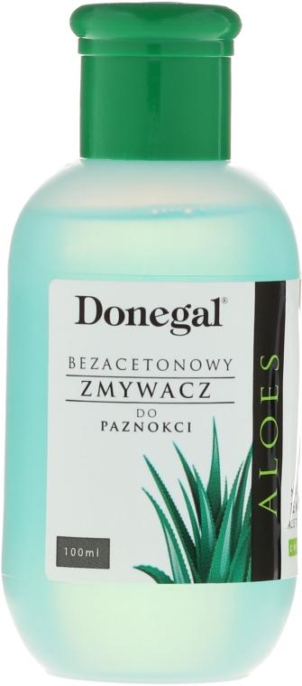 Soluție cu aloe pentru îndepărtarea ojei, fără acetonă - Donegal Nail Polish Remover