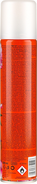 Șampon uscat pentru păr - Time Out Dry Shampoo Orient — Imagine N4