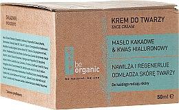 Parfumuri și produse cosmetice Cremă hidratantă pentru față - Be Organic Moisturising Face Cream