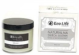 "Parfumuri și produse cosmetice Lumânare parfumată ""Relax"" - Eco Life Candles"