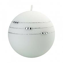 Parfumuri și produse cosmetice Lumânare decorativă, albă, 10 cm - Artman Kolia