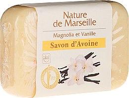 Parfumuri și produse cosmetice Săpun de ovăz cu Vanilie și Magnolia - Nature de Marseille Soap