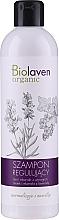 Parfumuri și produse cosmetice Șampon normalizant și hidratant pentru toate tipurile de păr - Biolaven Organic