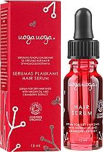 Parfumuri și produse cosmetice Ser cu ulei de argan și extract de merișoare pentru păr - Uoga Uoga Rejuvenating & Protective Serum