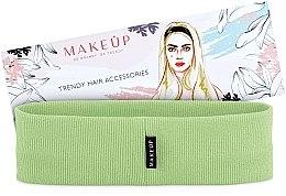 """Parfumuri și produse cosmetice Bandă elastică de păr """"Be Beauty"""", verde - MakeUp"""