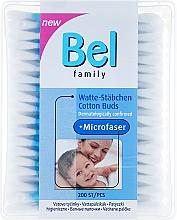 Parfumuri și produse cosmetice Bețișoare de urechi - Bel Family Cotton Buds