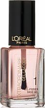 Parfumuri și produse cosmetice Primer pentru unghii - L'Oreal Paris Extraordinaire Gel-Lacque Gel Primer 1