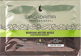 Parfumuri și produse cosmetice Mască de păr - Macadamia Professional Nourishing Moisture Masque (mostră)
