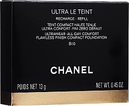 Parfumuri și produse cosmetice Fond de ten compact  - Chanel Ultra Le Teint Ultrawear All-Day Comfort Flawless Finish Compact Foundation (rezervă)