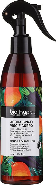 "Spray pentru corp ""Mango și morcov negru"" - Bio Happy Body Mist Mango & Black Carrot — Imagine N1"