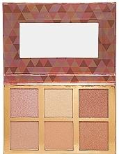 Parfumuri și produse cosmetice Paletă farduri sidefate - Bellapierre Glowing Palette