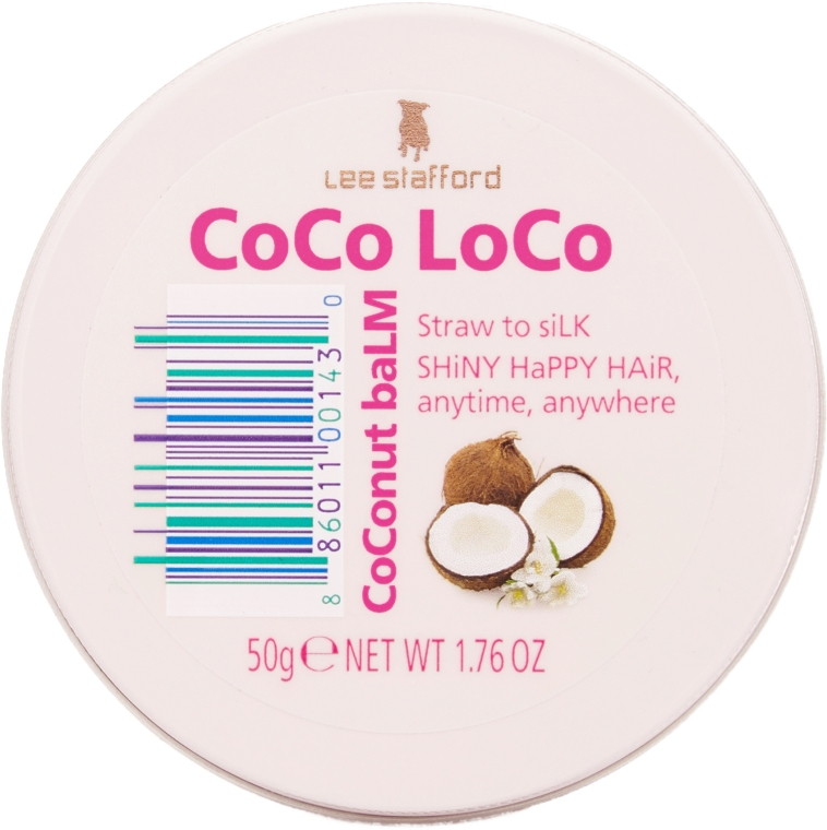 Balsam de păr - Lee Stafford Coco Loco Coconut Balm — Imagine N1