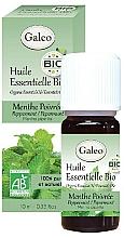 Parfumuri și produse cosmetice Ulei esențial organic de mentă - Galeo Organic Essential Oil Peppermint
