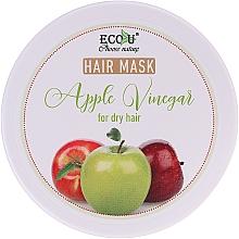 """Parfumuri și produse cosmetice Mască pentru păr uscat """"Oțet de mere"""" - ECO U Apple Vinegar Hair Mask For Dry Hair"""