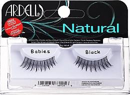Parfumuri și produse cosmetice Gene false + adeziv - Ardell Natural Babies Black
