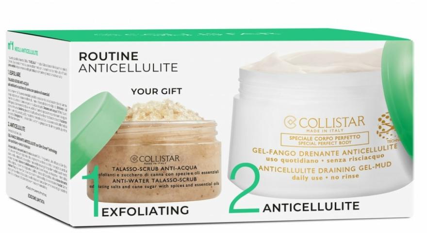 Set - Collistar Routine Anticellulite (scr/150g + b/gel/400ml) — Imagine N1