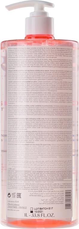 Gel de curățare pentru ten sensibil și uscat - SVR Topialyse Gel Lavant — Imagine N6