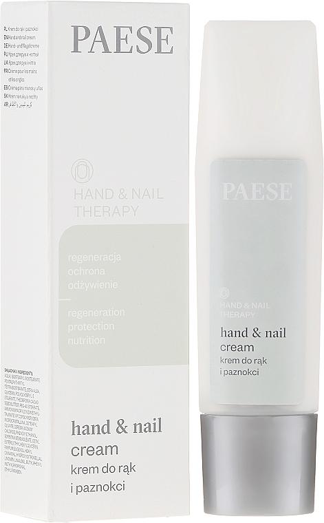 Cremă pentru mâini și unghii - Paese Hand & Nail Therapy Cream — Imagine N1