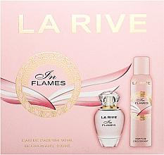 Parfumuri și produse cosmetice La Rive In Flames - Set (edp/90ml + deo/150ml)