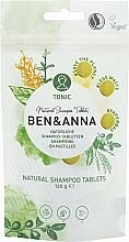Parfumuri și produse cosmetice Șampon natural în tablete - Ben&Anna Tonic Natural Shampoo Tablets