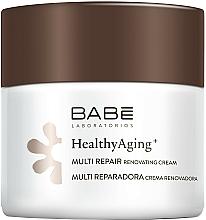 Parfumuri și produse cosmetice Cremă de noapte multi-regenerantă cu complex anti-îmbătrânire - Babe Laboratorios Healthy Aging Multi Repair Renovating Cream