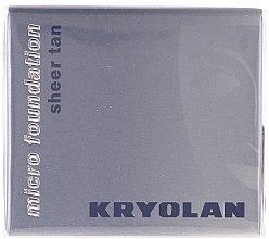 Parfumuri și produse cosmetice Fond de ten, impearmeabil - Kryolan HD Micro Foundation Sheer Tan