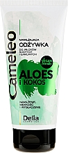Parfumuri și produse cosmetice Balsam de păr - Delia Cameleo Aloe And Coconut Moisturizing Conditioner